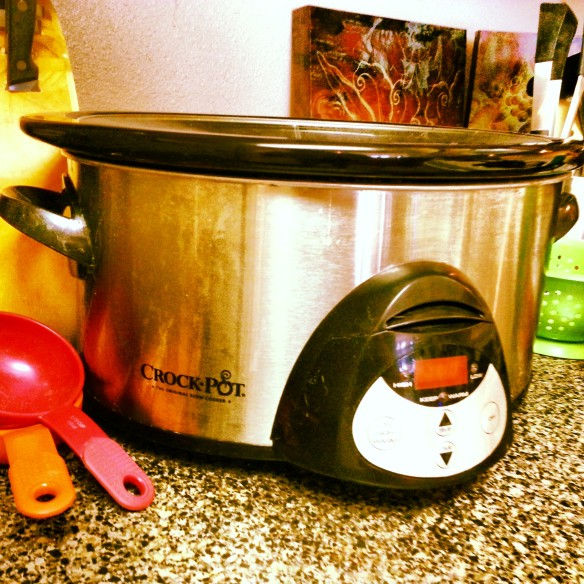Slow roasting my turkey this year in the Crock Pot®